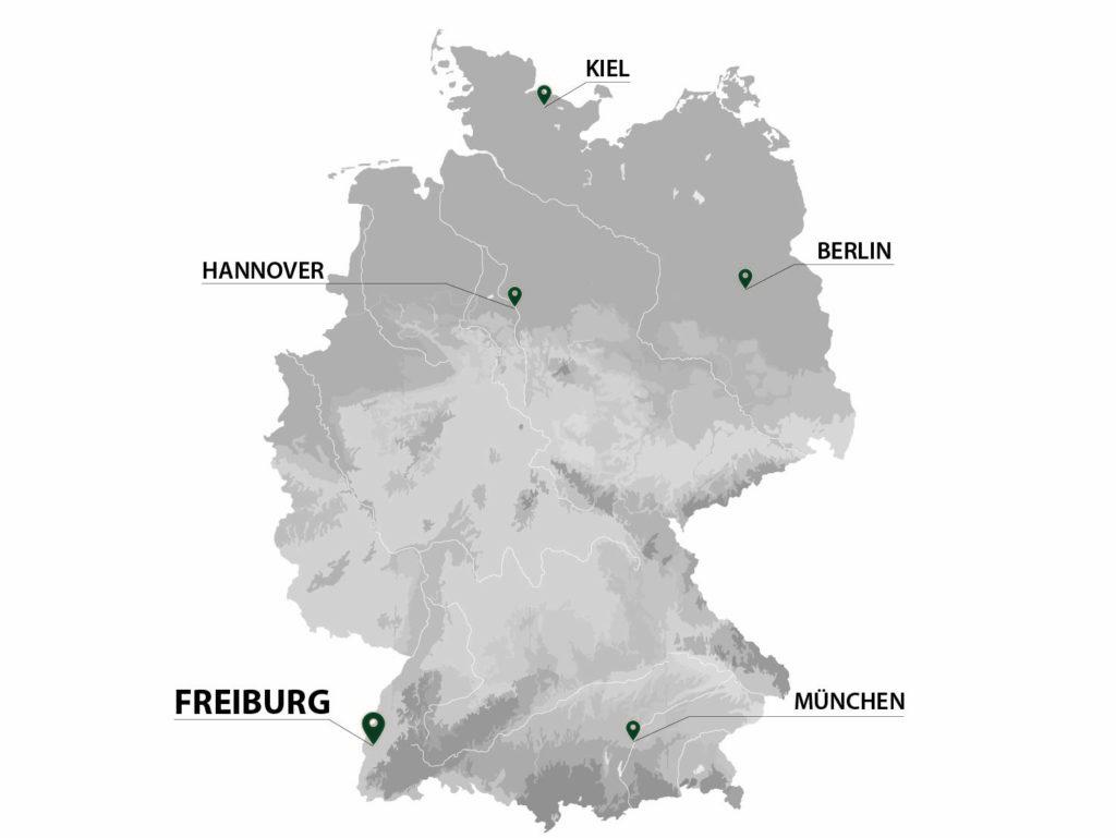 Deutschlandkarte-Projektstandorte-gain